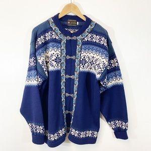 Norsk Wear Cardigan Sweater Sz XL